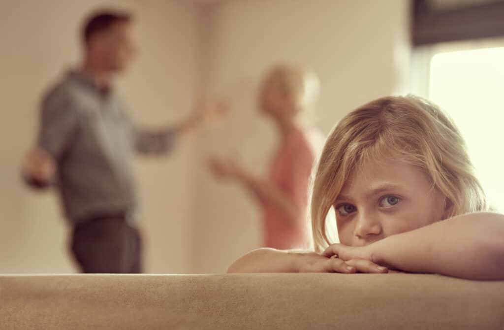 Ouders hebben ruzie
